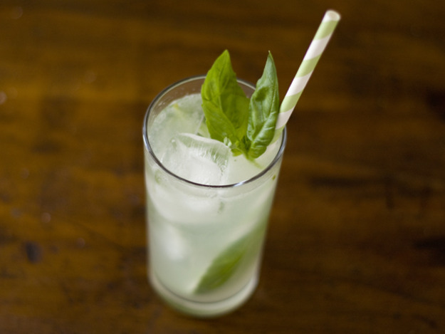 basil lime cooler