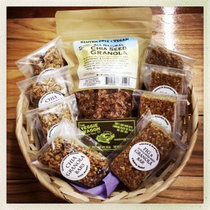 veggie wagon gift basket
