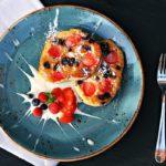 strawberry blueberry pancakes